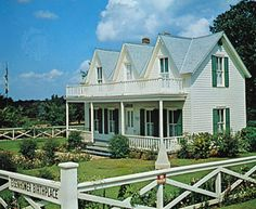 The birthplace of U.S. President Dwight D. Eisenhower is a state historic site in Denison, Texas.