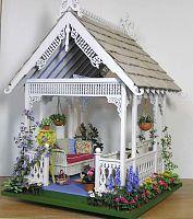 Susan's Miniatures Miniature Plants, Miniature Fairy Gardens, Miniature Houses, Miniature Dolls, Mini Gardens, Dollhouse Kits, Dollhouse Miniatures, Craft Stick Crafts, Diy Crafts