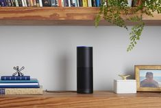 Say you have a guest staying in your apartment, or your roommate's working from home, and they start using the Echo. Whoever has access to the Alexa app that controls your Echo can listen to those requests, right from their mobile device. So it might be good to remind everyone who passes through your home that the Echo is *listening* – and that, if it freaks 'em out, they can press the mute button (the microphone with the line through it) at any time to turn the voice listening off.