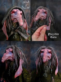 Forest Creatures. Troll Shaman. Poseable doll.(big doll of 40 cm tall / 15.75 inches). ----- #Artdolls #Fantasydolls #Fantasymagic #Ooakfairies #Theenchantedcollective #Froudian