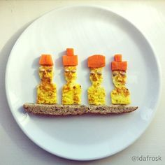 <b>How can you just sit there chewing, content with your sad, conformist sandwich?</b> You could be turning your food into ART.