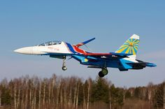 This is a Su-27 of the Russian Knights and not a MiG as mislabeled on the web-page