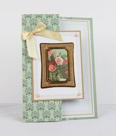 By: Kendra Wietstock for Crafter's Companion.  Downton Abbey Luxury Cardmaking Kit.