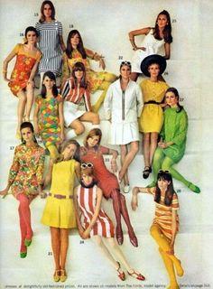 1960s Summer fashions