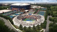 Another look at the renovations to the U.S. Tennis Center