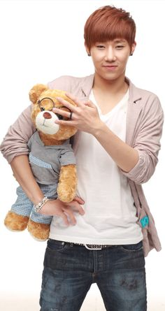 sunggyu ♡ #INFINITE -You know you want to be that bear! Lol