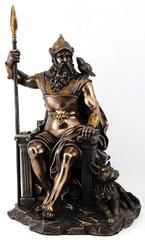 Throned Odin Statue