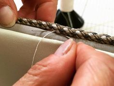 Hand sewing is our speciality, most of our work is hand stitched. It takes time to create our bespoke pieces but they will last a lifetime!