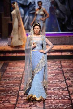 SUNEET VARMA -INDIA BRIDAL FASHION WEEK 2013