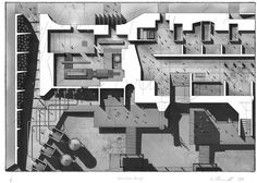 roof plan architecture shadow hand drawn - Google Search