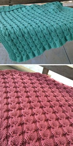 Free Knitting Pattern for 6 Row Repeat Gulls and Sea Foam Baby Blanket - This . Free Knitting Pattern for 6 Row Repeat Gulls and Sea Foam Baby Blanket - This simple blanket is knit with a 6 Row 8 stitch rapport seagull stitch. Baby Knitting Patterns, Free Baby Blanket Patterns, Knitting Kits, Easy Knitting, Knitting Stitches, Baby Patterns, Sewing Patterns, Knitting Ideas, Sewing Ideas