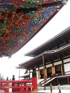 Main Hall and the three-storied pagode, Shinshoji Temple, Naritasan, Japan (c)MoinServus!