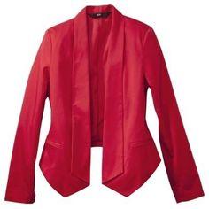 Mossimo Women's Sateen Blazer Jacket...