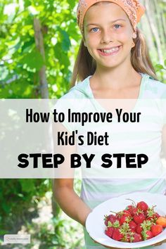 Help Your Children Form Healthy Eating Habits. Need to look into the healthy eating videos for kids that she's made! Wonder if it would benefit me and my tiny picky eaters?