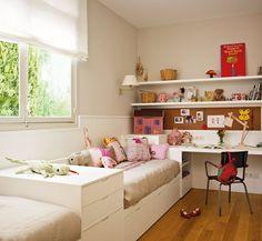 15 ideas para crear una zona de estudio · ElMueble.com · Niños