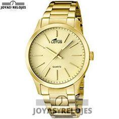 ⬆️✅ Lotus 15960/2 ⬆️✅ Increíble Modelo de la Colección de Relojes LOTUS || PRECIO 99.82 € En exclusiva en  https://www.joyasyrelojesonline.es/producto/lotus-159602-reloj-de-cuarzo-para-hombre-con-correa-de-acero-inoxidable-color-dorado/  ¡¡Corre que vuelan!!