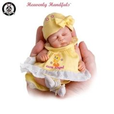 Life Like Newborn Dolls | Heavenly Handfuls TWEETY Sweeties Lifelike Baby Doll Collection In ...