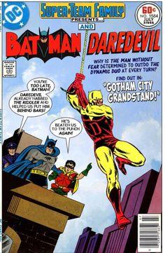 Super-Team Family Silverage Batman and Daredevil