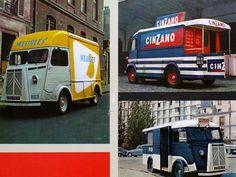Ideas for your Citroen H van interior. From 60's H Van brochure.