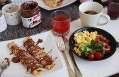 Perfect breakfast! Yummy