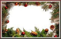 Moldura de Natal com fundo transparente - 7 Frames Png, Christmas Wreaths, Christmas Tree, Art Music, Tree Skirts, Holiday Decor, Classic, Bulgaria, Home Decor
