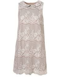 Image result for lace dress with peter pan collar