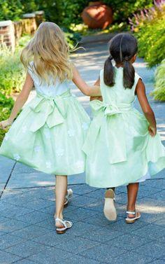 Oscar de la Renta Childrenswear Spring/Summer 2014 Trunkshow Look 6 on Moda Operandi