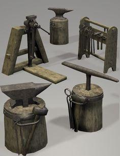 medieval blacksmith shop - Google Search