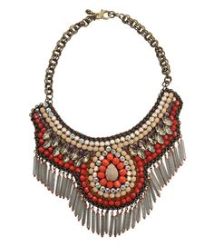 Un collier tribal Bling Bling, Maxi Collar, Turquoise, Bag Accessories, Bracelets, Jewlery, Shopping, Diamond, My Style