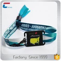 music festival fabric wristband woven bracelet 13.56mhz rfid wristband