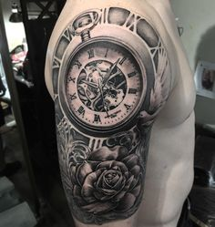 Bit different w the watch inside the clock-bri
