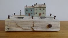 n°7 Miniature wooden houses Upcycled by Maria