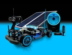 Fuel Cell Powered RC Car  I bet my son could build one
