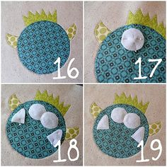 How to applique on fabric