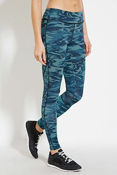 Train hard in women's workout pants, shorts, and leggings from Forever Browse patterned, mesh, and lace-up active bottoms online today! Forever 21 Uk, Digital Print, Stay In Shape, Printed Leggings, Workout Gear, Dance Wear, Fitness Fashion, Latest Trends, Active Wear