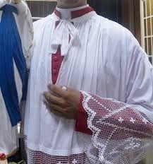 Resultado de imagem para modelo de sobrepeliz veste liturgica