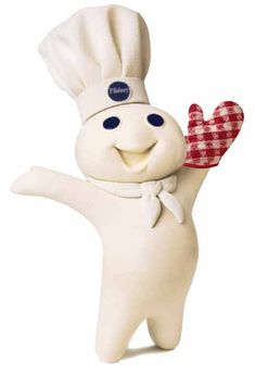 The Pillsbury Dough Boy-So Cute!