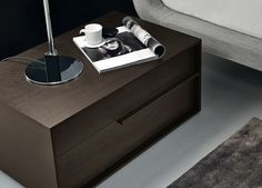 Jesse Feel Bedside Cabinet - Jesse Bedroom Furniture At Go Modern