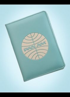 Pan Am Passport Cover...glad I got mine before the T.V. series came out and they sold out. It's a good retro reproduction, very cute.