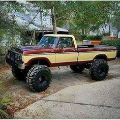 1979 Ford Truck, Ford Ranger Truck, Old Ford Trucks, Old Pickup Trucks, 4x4 Trucks, Diesel Trucks, Cool Trucks, Custom Trucks, Ford Diesel