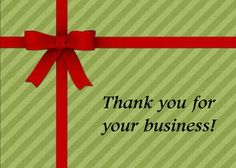 Always thank your clients for doing business with you! Send this card today. This is a real card (not an e-card). Send this card now. Send a card for $1.98 when sharing from Sendcere.com.