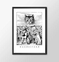 Wonderland 4 - Traditional Alice In Wonderland Art by ShamanAlternative on Etsy