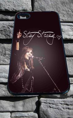 stay strong demi lovato (2) for iPhone 4/4s, iPhone 5/5S/5C/6, Samsung S3/S4/S5 Unique Case *76* - PHONECASELOVE