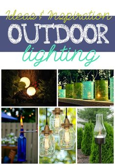 Outdoor lighting ideas and inspiration.