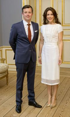 Danish HRH Crown Prince Frederik and HRH Crown Princess Mary hosts a dinner for Copenhagen Fashion Summit 2014 in Frederik VIII's Palace, Amalienborg, 23.04.14.