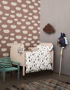 Cloud rose wallpaper