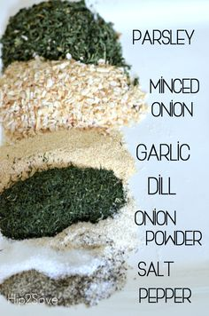 Ditch the ranch seasoning packets at the store and opt to make your own version instead in just a few minutes. Homemade Ranch Seasoning, Ranch Seasoning Mix, Homemade Ranch Mix, Homemade Ranch Dressing Mix, Homemade Spices, Homemade Seasonings, Whole Food Recipes, Cooking Recipes, Smoker Recipes