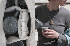 PEROLZ TEA SET bag - Rita Nyirati - www.facebook.com/... ceramics - Zsuzsi L. Molnár - www.facebook.com/... textil - Gabi Kósa - https://www.facebook.com/kosagabi.textiles + jewelerry - Csilla Halász - https://www.facebook.com/csillagfaekszer