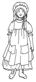 Mormon Share Pioneer Girl Laundry