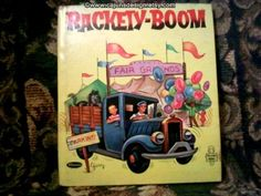 Rackety Boom was a dirty old truck. The kind of truck that might get stuck in the mud... on a hill... or just standing still.